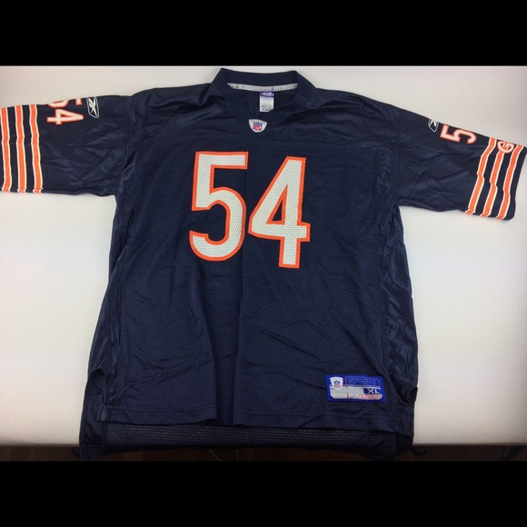 lowest price 06d3e 270d6 Brian urlacher Chicago bears jersey Reebok nfl